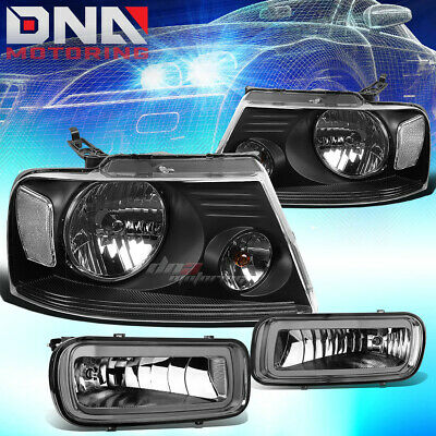 DNA MOTORING FL-NS048-SM Front Bumper Fog Light