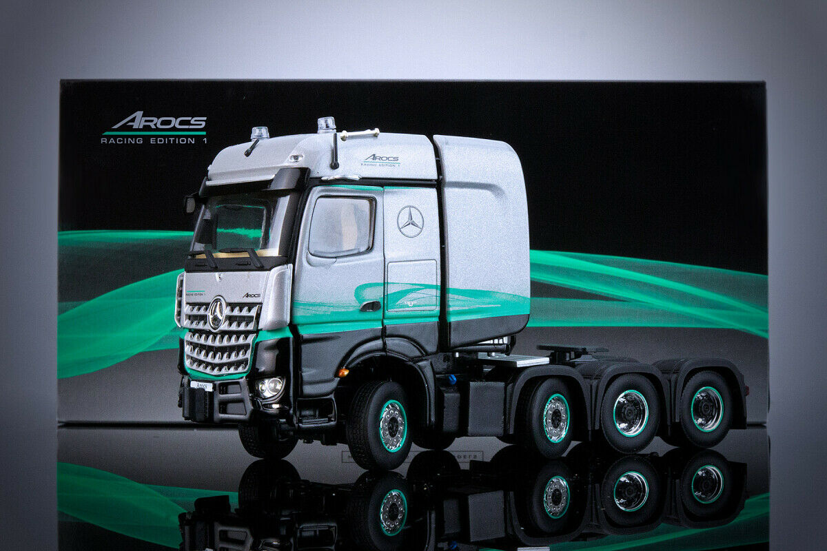 IMC Modellls 33-0117 Mercedes-Benz Arocs STL 8x4 Racing Ausgabe 1 NEU   OVP