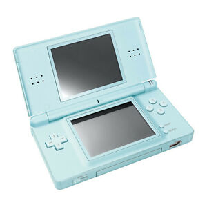 nintendo ds lite turquoise handheld system pristine a 45496443009 ebay. Black Bedroom Furniture Sets. Home Design Ideas