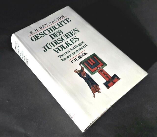 Geschichte des jüdischen Volkes, H.H.Ben Sasson,von den Anfängen bis Gegenwart