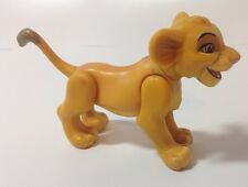 Vintage Disney The Lion King Poseable Action Baby Simba Mattel Cub Dark