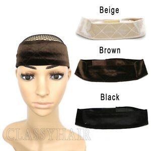 Velvet Wig Grip Adjustable Fasten Head Hair Band WiGrip Fit All Heads