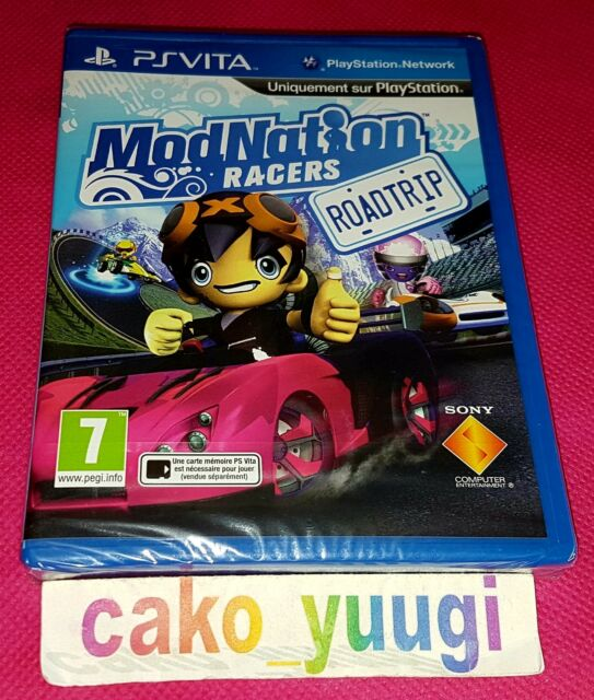 MODNATION RACERS ROAD TRIP SONY PS VITA NEUF SOUS BLISTER ABIME