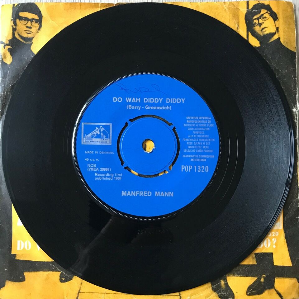 Single, Manfred Mann, Doo Wah Diddy Diddy/What You Gonna