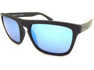 cc5dca9e9e DIRTY DOG Polarized RANGER Sunglasses Satin Black   Ice Blue Mirror ...