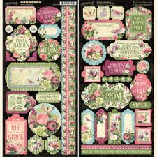 """Kaisercraft /'HONEY CHAI/' 12x12/"""" Sticker Sheet Flowers//Floral//Butterfly KAISER"""