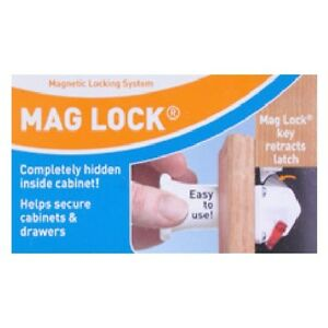 Dream-Baby-Mag-Lock-On-Off-Magnetic-Cabinet-Child-Safety-Latch-Lock-and-or-Key