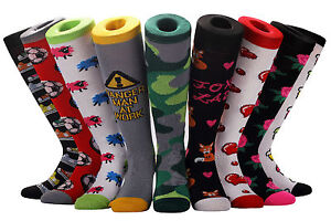 detailing fantastic savings the sale of shoes Details about SAMSON® KNEE HIGH NOVELTY SOCKS FOOTBALL SPORT GIFT FUNNY  FUNKY KIDS WOMENS MENS