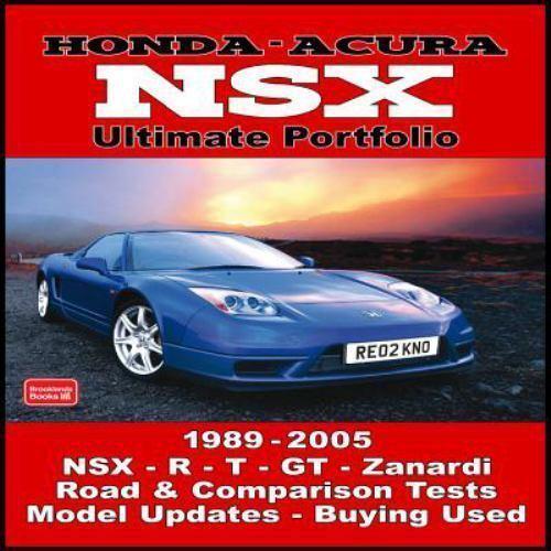 Ultimate Portfolio Ser.: Honda Acura NSX, 1989-2005 By R