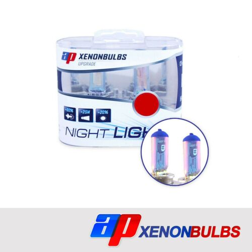 H1 Super White 90/% Xenon Headlight Bulbs Fits Jaguar X-Type 2.0 D