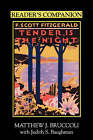 Reader's Companion to F.Scott Fitzgerald's  Tender is the Night by University of South Carolina Press (Paperback, 1997)