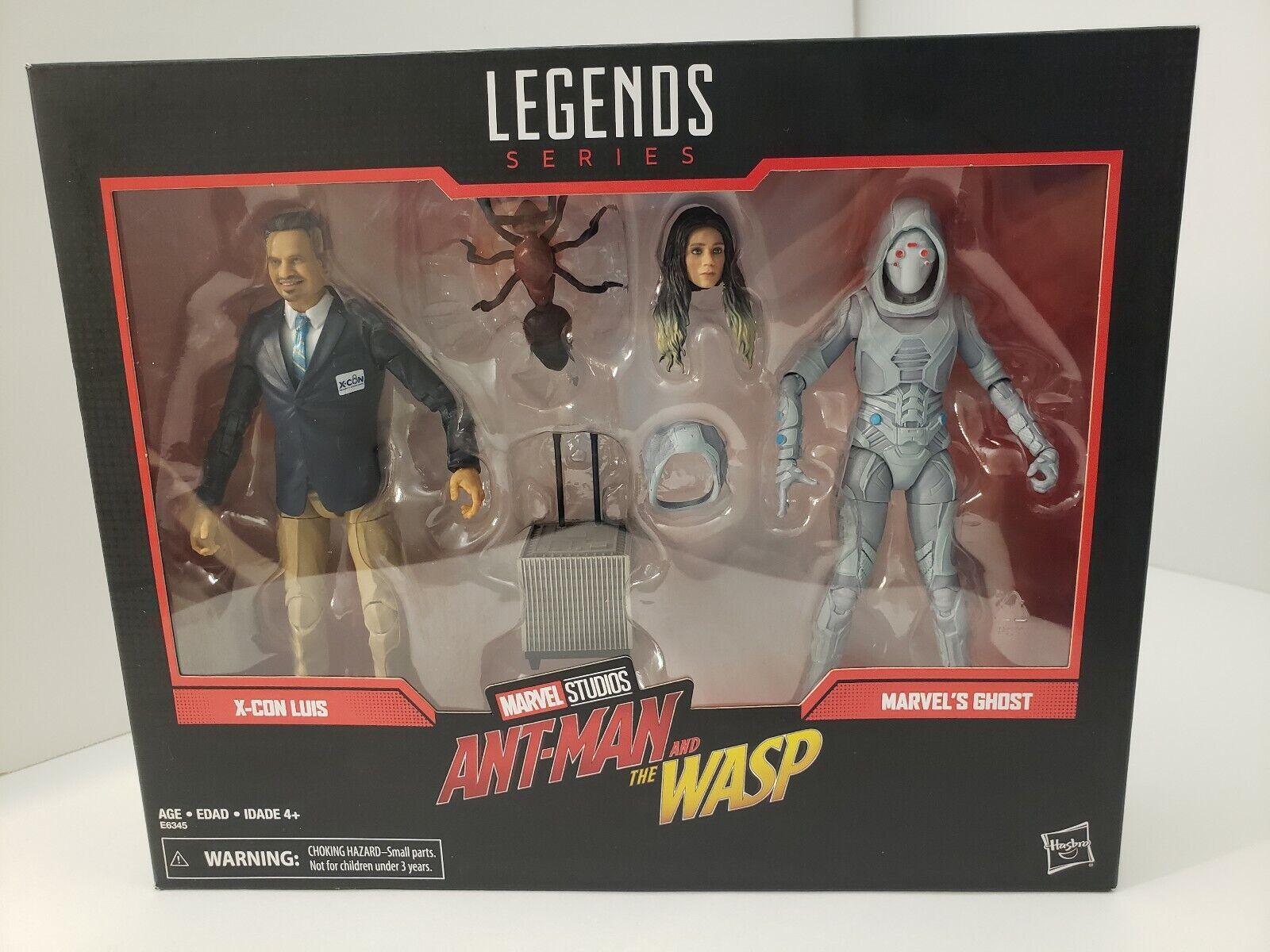 Marvel Legends 80 ans  Luis et Ghost in hand prêt à expédier  promotions discount