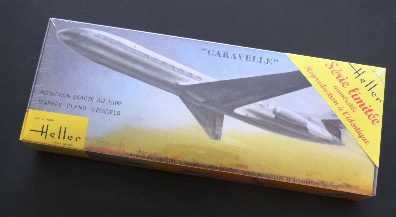 Rare  Heller 1 100 CARAVELLE (Predotype F-BHRA) F-BHRA) F-BHRA)  Limited Edition 88f458