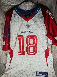 Peyton manning pro bowl 2009 jersey size 50 reebok