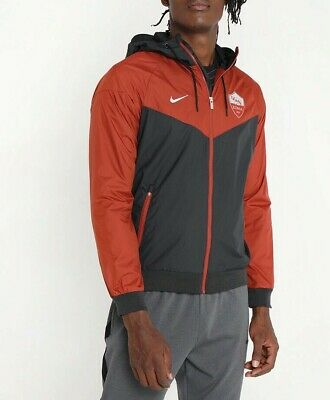 NIKE 2020 AS ROMA NSW Windrunner Woven Jacket Authentic ...