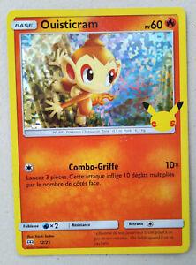 Carte Pokémon - Ouisticram Holo 60 PV 12/25