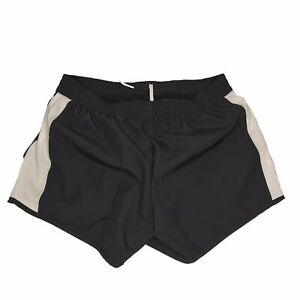 Puma-Shorts-Women-Size-XL-Athletic-Running-Cruiser-Black-White-Quick-Dry-Light