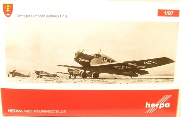 Junkers f.13 Gdansk aérien (Reg. dz.41)