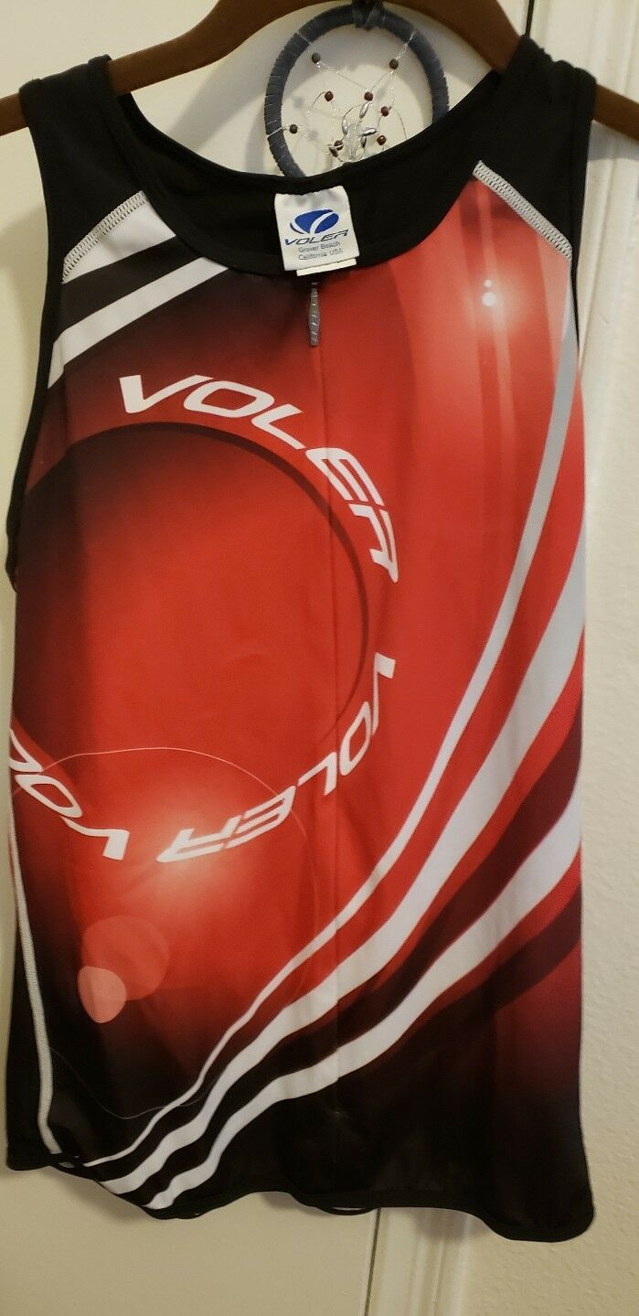 Voler Triton Sleeveless Cycling Jersey- Large Made in USA