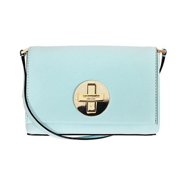 Kate Spade SALLY Newbury Lane  Grace blue Saffiano Leather Crossbody Bag
