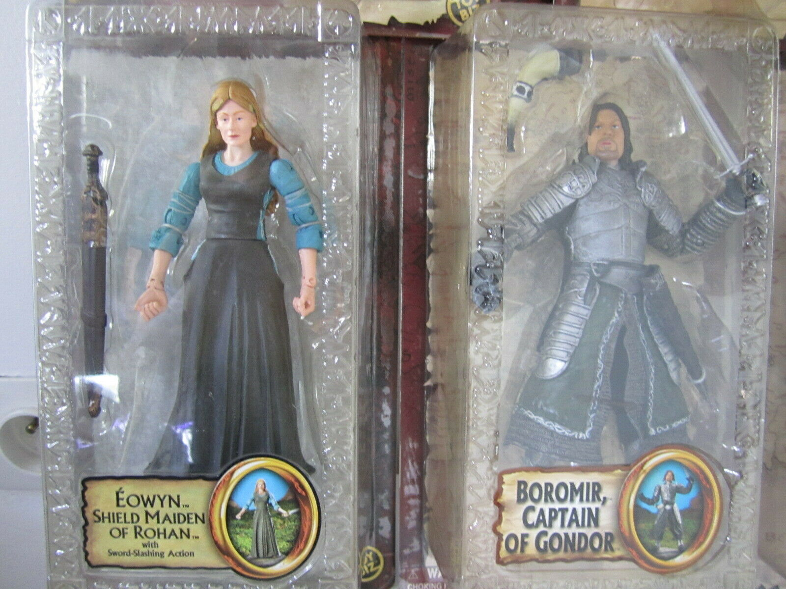Lot toybiz lotr lord of the bagues  lord of the bagues the two towers 5 figures  pas cher en ligne