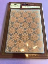 "Damask Crafter/'s Companion Gemini 5/"" x 7/"" Card Embossing Folder"
