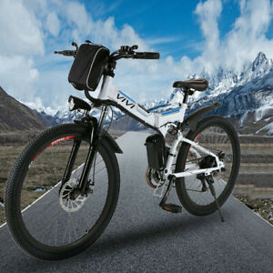 """26"""" Electric Bike Mountain Bicycle EBike 21*Speed 350W Removeable Battery Cool……"""
