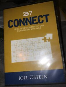 Joel Osteen 28/7 CONNECT (4 CD Set) Sealed New Rare Christian
