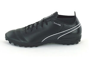 puma one 17.4 tt - mens turf trainers - 104078 04 - black - brand new faf4ca5fa