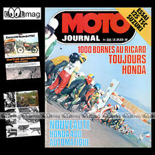 MOTO JOURNAL N°325 TRIAL HUBERT AURIOL CHARLES COUTARD SUZUKI 125 TSC '77