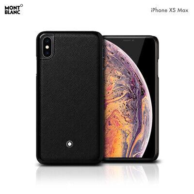 Genuine Montblanc Italien Mollet Peau Cuir Coque Rigide Cover Case iPhone XS Max | eBay
