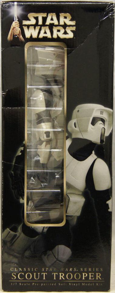 Star Wars Scout Trooper 1/7 Scale Soft Vinyl Model NIB Kit ArtFX 2005 NIB Model Kotobukiya 02b7d5