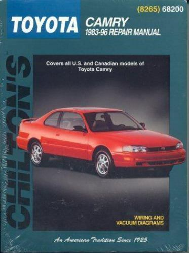 total car care repair manuals toyota camry 1983 96 by chilton rh ebay com 1998 Toyota Camry Owners Manual 1998 Toyota Camry ManualDownload