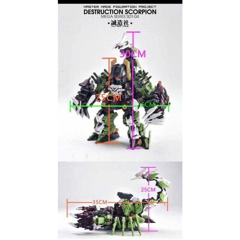 Master Made SDT-04 Destruction Scorpion Action Figure Transformers (USA Seller)