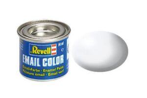 Revell-32301-Peinture-Enamel-301-RAL9010-Blenc-White-Silk-14ml