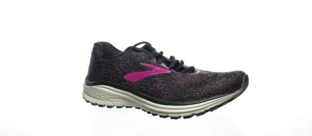 Brooks Womens Anthem 2 Black/Grey/Pink Running Shoes Size 7.5 (1489412)