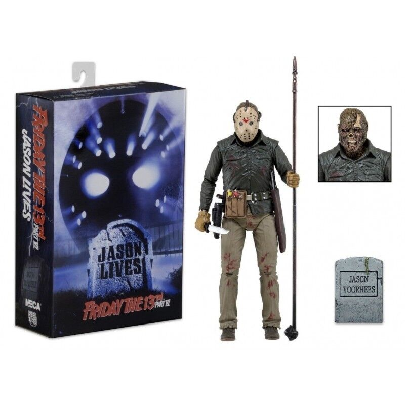 Freitag, 13. neca teil 6 ultimative jason voorhees 18 cm action - figur