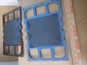 Details about Lot of 6---Used Hydrogen Fuel Cell Graphite Plates