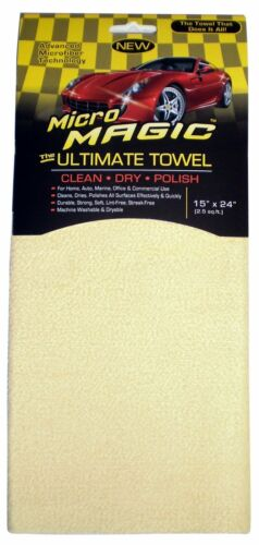 "Simoniz S-750A 15/"" x 24/"" 2.5 sq.ft Micro Magic Drying Towel"