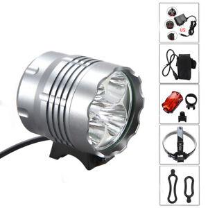 20000LM-XML-T6-LED-Frontal-Foco-Cabeza-Bicicleta-Luz-Linterna-Headlamp-Bateria-K