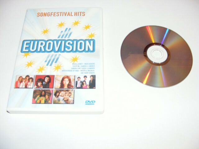 Eurovision Song Contest Various Artists Compilation DVD - (released 2003)