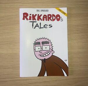 Rikkardo-039-s-Tales-Fumetto-Sticker-Disegnino