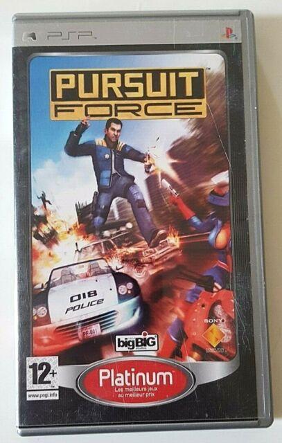 Pursuit Force - Sony PSP - PAL