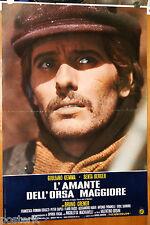 soggettone film L'AMANTE DELL'ORSA MAGGIORE Giuliano Gemma 1971