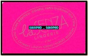 LA-SENZA-LINGERIE-LONDON-ROME-ISTANBUL-MONTREAL-PARIS-PINK-COLLECTIBLE-GIFT-CARD