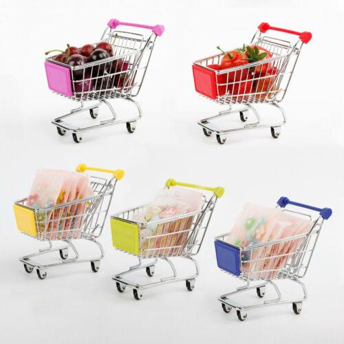 Mini Shopping Cart Trolley Toys Pink