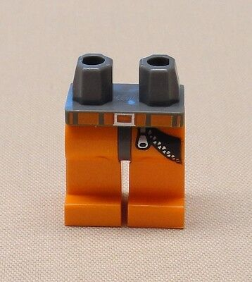 Lego New Orange Hips and Orange Legs with White Boots Pattern Minifig Pants