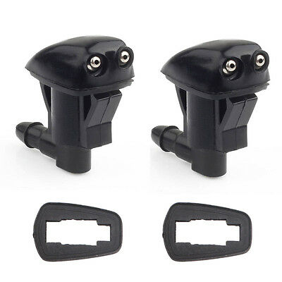 2x Front Windshield Washer Wiper Spray Nozzle For Jeep Grand Cherokee 2005-2010