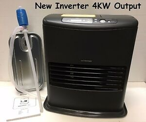 NEW Model INVERTER 6003 4000w 4kw Indoor Paraffin Kerosene Heater ...