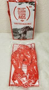 NIKE RED Shoe laces 3 pair ONE STEP